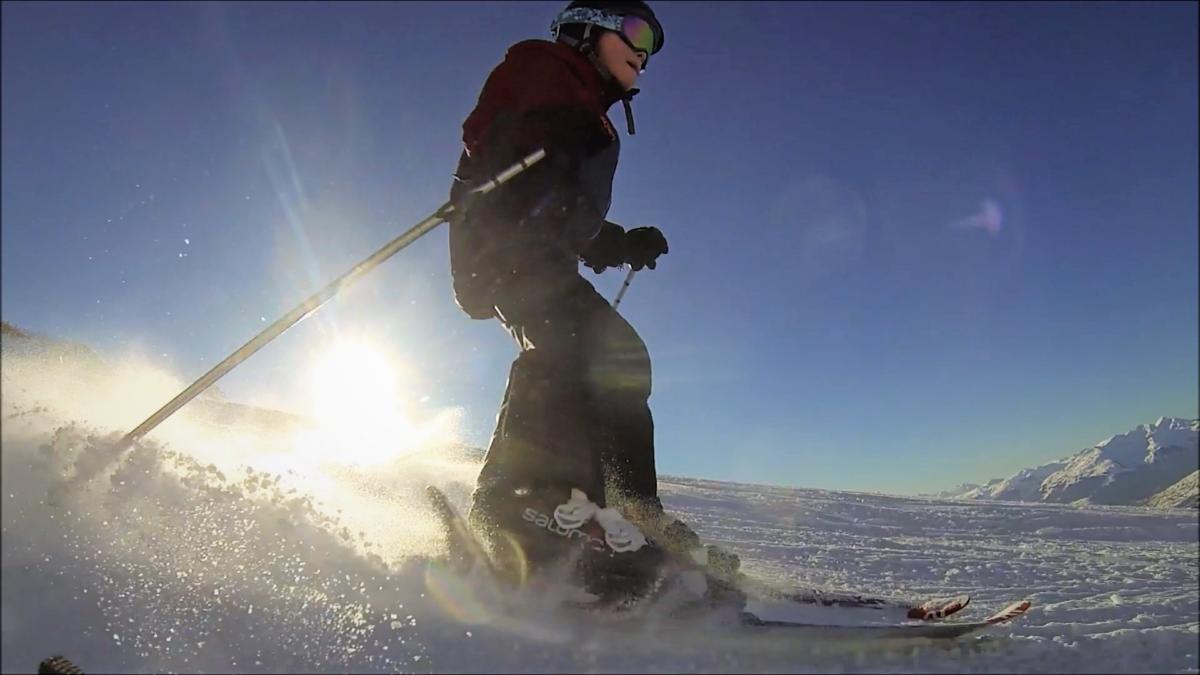 semelles orthopédiques en impression 3D utilisées en ski